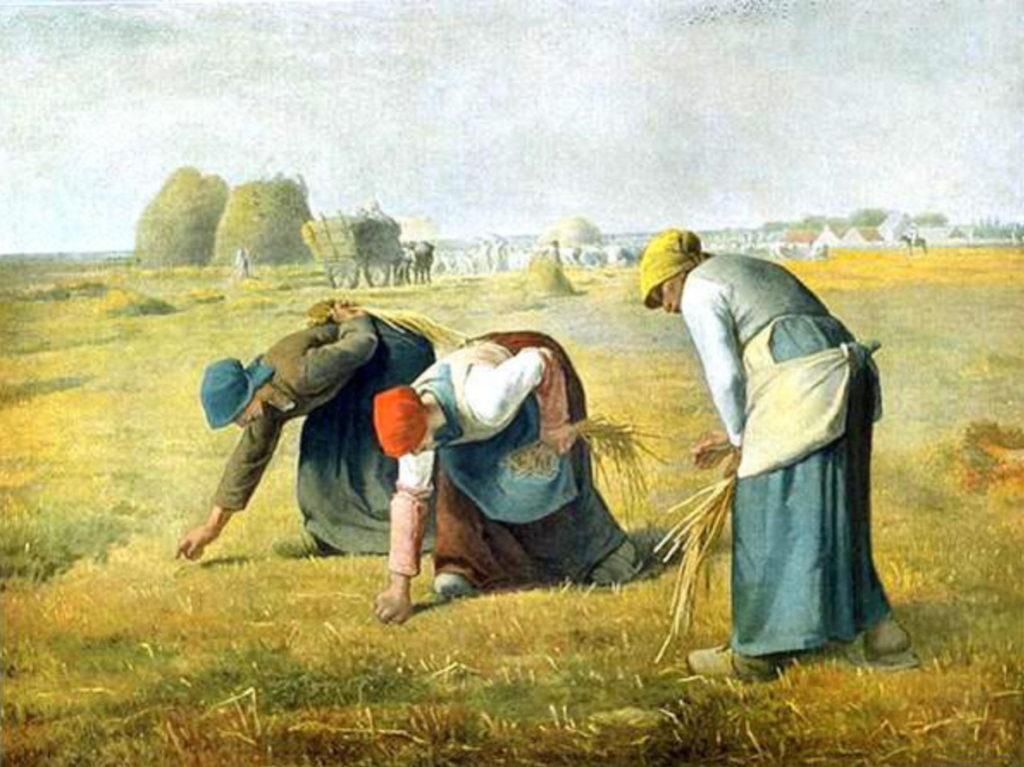 Les glaneuses de Gustave Courbet